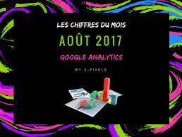 Les chiffres 5-pixels du mois : Aout 2017