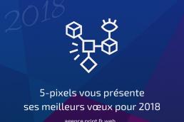 Voeux 2018 5-pixels